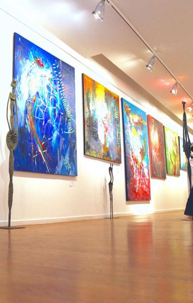 Partagez vos œuvres dans des galeries