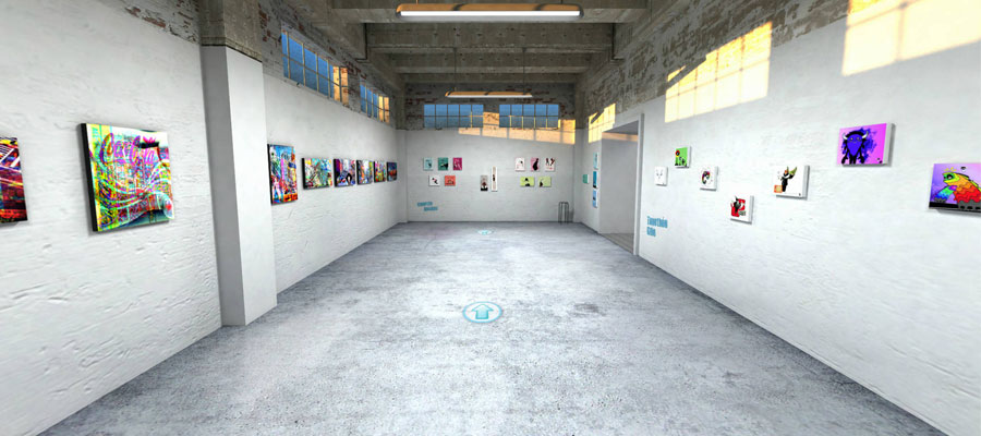 galerie d'art en ligne : la chance des artistes méconnus